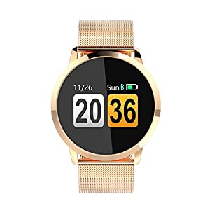 Berrose Smartwatch Schlafüberwachung Blutdruckmessung Blutsauerstoffmessung Echtzeit Herzfrequenzmessung für Android 4.4 und höher, iOS 8.0 höher.