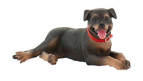 Bullyland 65447 - Spielfigur, Rottweiler Fiona, ca. 8,7 cm