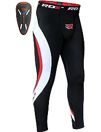 RDX Neoprene Pantalon de compression Tights Tasse à Ailettes Coquille Running Collant Caleçon Sport Triathlon