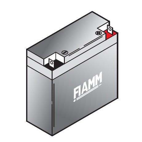 Batterie au plomb Fiamm FGC21803 cyclique 12Volt, 18Ah