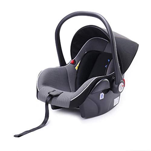 HIZH Sede Infantile Carrier Car Sicurezza dei Bambini Appena Nati Passeggino Carrello 0-13Kg, Grigio