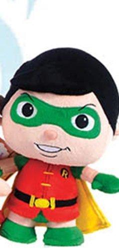 "Official DC Comics Batman Robin Plush Super Soft Toy - From the Little Mates Range 9"""