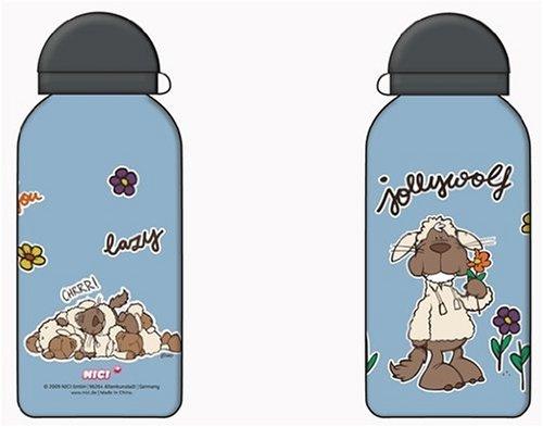 Preisvergleich Produktbild Nici 31784 - Sportflasche Jolly Wolf c3, 400 ml
