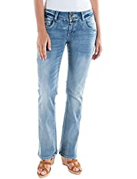 Timezone Damen Bootcut Jeans Slim Greta Super Stretch