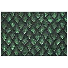 Tapicería Textura sin costura de escamas de dragón Piel de reptil de pared Flor colgante Psicodélico