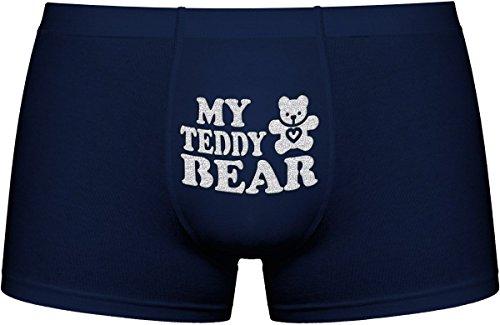 Cool Boxer briefs | My Teddy bear | Innovative gift. Birthday present. Gift Idea. Novelty (Teddy Bear Sexy)