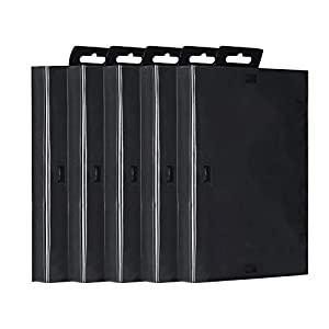 Tangxi Ersatz Game Case für Sega Genesis, 5er Pack Game Cartridge Leere Shell Box Ordentlicher Koffer für Sega Game Machines