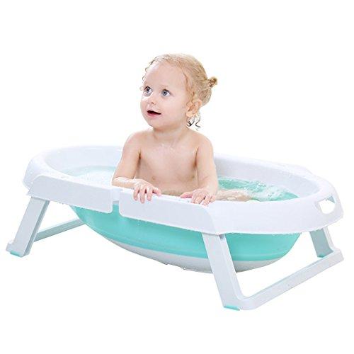 Badewannen Baby-Wanne Baby-Badewanne Badewanne Kinderprodukte Kann sich hinlegen Verdicken Baby-Produkt Falten einfache Lagerung Nimmt nicht Platz