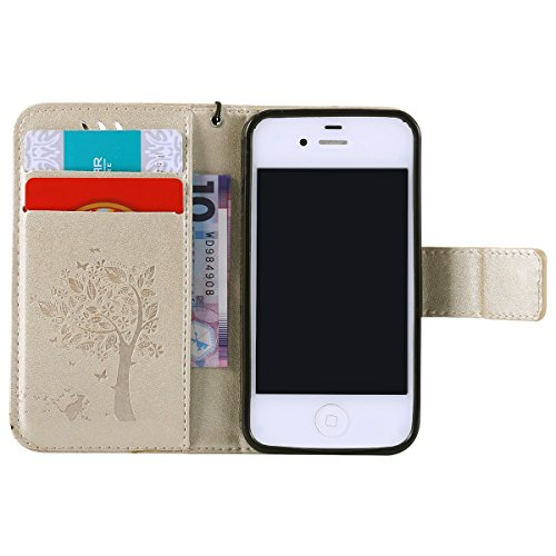Custodia Iphone 4s Isaken Cover Iphone 4s Elegante Borsa Tinta