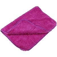 P Prettyia 1 Pieza de Empuñadura para Limpiar Patinajes de Hielo Hecho de Microfibra - Púrpura