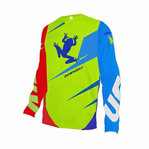 Uglyfrog Bike Wear Manica Lunga Magliette Uomo MTB/Downhill/Motorcycle Primavera Jersey Mountain Bike Abbigliamento
