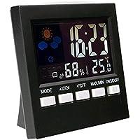 Pinkdose® HTC-1 LCD-Digital-Hygrometer-Thermometer-Temperatur-Feuchtigkeits-Messgerät-Raum-Innenuhr