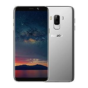 BLUBOO S8 Plus 4G Smart Phone 6 Inch 18:9 HD+ Full Screen Android 7.0 MTK6750T Octa-core 1.5GHz 4GB RAM 64GB ROM Dual Rear Cameras 16MP+3MP Front Camera 8MP 3600mAh Fingerprint Mobilephone