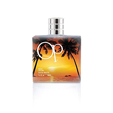 Ocean Pacific Gold for Him Eau De Toilette Spray, 3.4 Ounce by Ocean Pacific