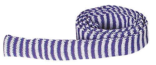 Manchon tricot Bleu/Blanc