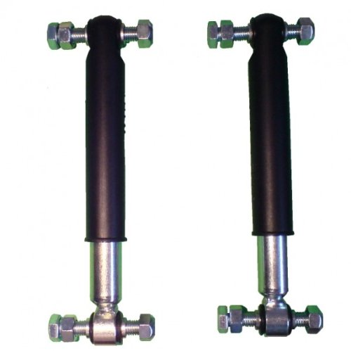 2 Stück Knott Achsstoßdämpfer 600 bis 1800 kg -Knott Nr. 990001 + Schraubensatz