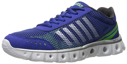 K-Swiss X Lite Athletic Cmf, Chaussures Multisport Outdoor Homme Bleu - Blue (Marine/Black/Green 472)