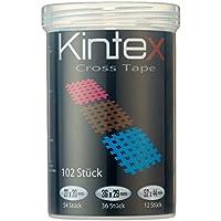 Kintex Cross Tapes Box mit 102 Oder 204 Pflaster + Ziatec Tape Schutzdose preisvergleich bei billige-tabletten.eu