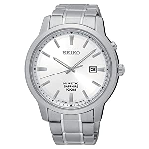 Seiko Mens Analogue Quartz Watch with Stainless Steel Strap SKA739P1