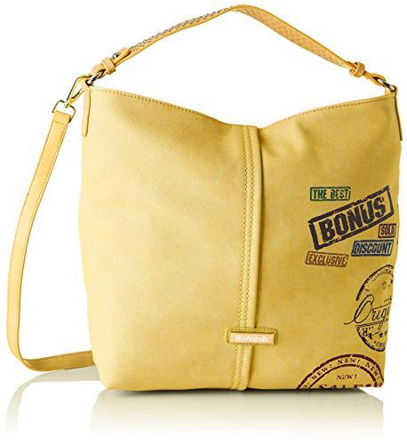 Refresh 83198, Shopper para Mujer, (Amarillo), 41x30x12 cm (W x H x L)