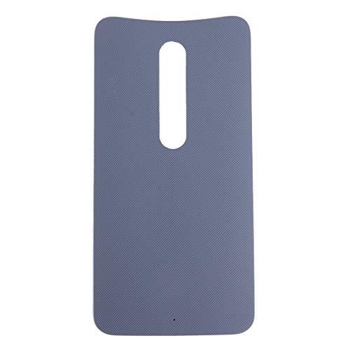 CHENCHUAN Hintere Abdeckung des Akkus Batterie rückseitige Abdeckung für Motorola Moto X (grün) Ersatzteil für Motorola (Farbe : Grey) - Abdeckung Moto X Ersatz Batterie