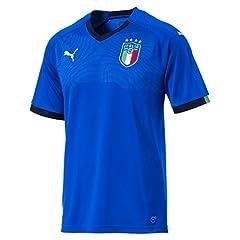 Idea Regalo - PUMA FIGC Short Sleeve, Maglietta Uomo, Blu (Team Power Blue/Peacoat), M