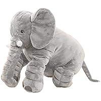 TFT Lindo Elefante Almohada edredón de Doble Uso sofá multifunción Almohada cojín Siesta Almohada Aire Acondicionado