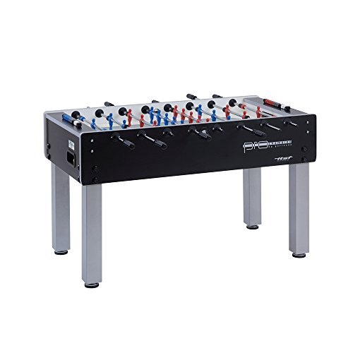 Garlando Unisex's Pro Champion Football Table, Black, One Size