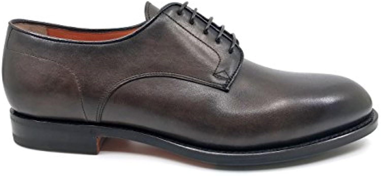 Santoni - Zapatos de Cordones de Goma para Hombre * -