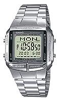Reloj digital Casio DB-360N para hombres con pulsera de acero inoxidable de Casio