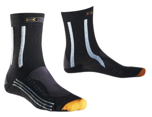 X-Socks Chaussettes de randonnée légères et Comfort Lady, Femme, X 20290, charcoal/sky blue/grey, 2
