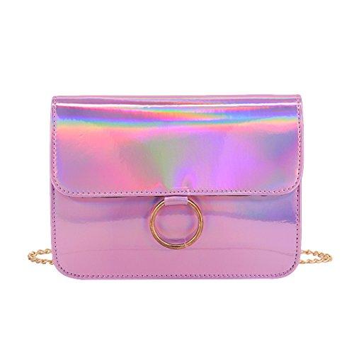 Novias Boutique, Borsa a tracolla donna rosa Pink Pink