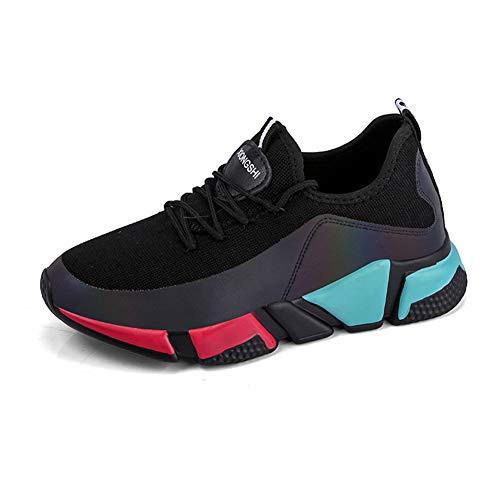 He-yanjing Ladies Sneakers, 2018 Spring And Summer The Scarpe Sportive Mesh Scarpe da Corsa Traspiranti Scarpe da Donna (Colore : C, Dimensione : 39)