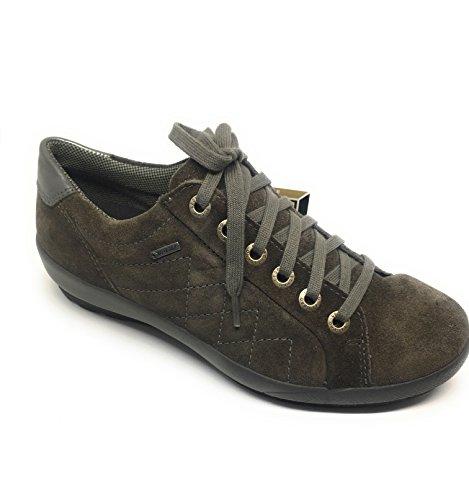 Superfit 1-00550-94 -, Scarpe stringate donna scuro-grigio
