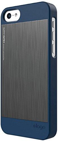 Elago Outfit Matrix Case for iPhone 5C Jean Indigo / Dark Gray