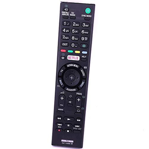 VINABTY RMT-TX200E Telecomando sostitutivo Compatibile TV Sony KD-49XD7004 KD-65XD7 KD-65XD7504 Bravia kd-55xd7005 Bravia kd-49xd7005 Bravia KD-65XD7505 KD-50SD8005 KD-49X7005D KD-55X7005D