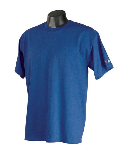 Champion -  T-shirt - Asimmetrico - Uomo Royal Blue