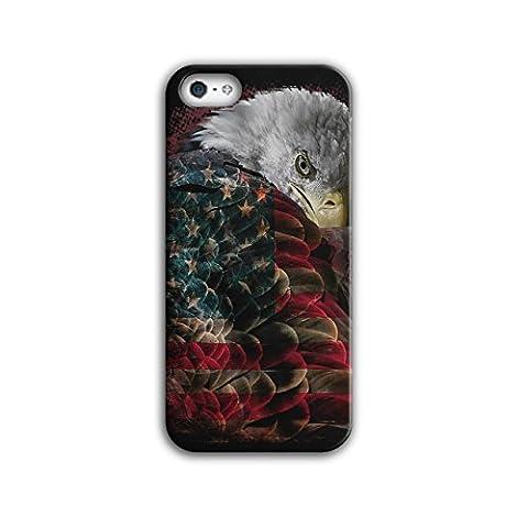 Adler Flagge Amerika USA Flügel Banner iPhone 5 / 5S Hülle | Wellcoda