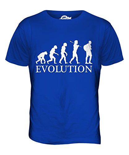 CandyMix Tourist Evolution Des Menschen Herren T Shirt Königsblau