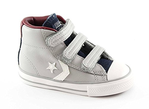 CONVERSE 755169C grauen Stern Pleyer ev baby shoes all star mid Tücken 25