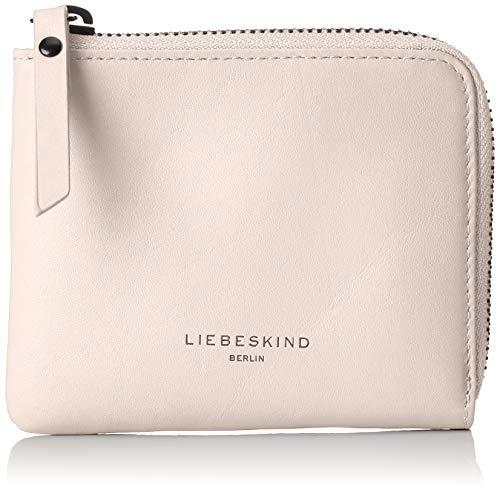 Liebeskind Berlin Damen Paper Bag Wallet Small Geldbörse, Pink (Dusty Rose), 1x10x12 cm -