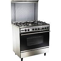 Uni Gas 5-burner Gas Stove With Oven Size (depth)60 X (width)90cm Model C6090s3v-dc-511