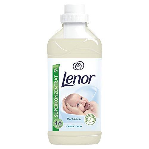 Lenor Gentle Touch Weichspüler, 1.2L, 8er Pack (8 x 48 Waschladungen)