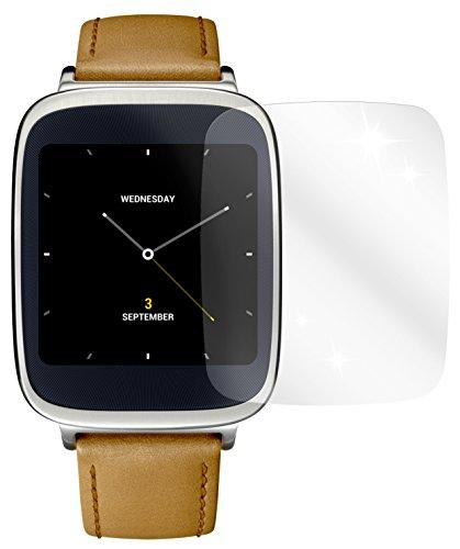 dipos I 2x Schutzfolie klar passend für Asus ZenWatch Folie Bildschirmschutzfolie