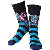 Marvel cr071006mar-39/42 calcetines de Capitán América (Talla ...