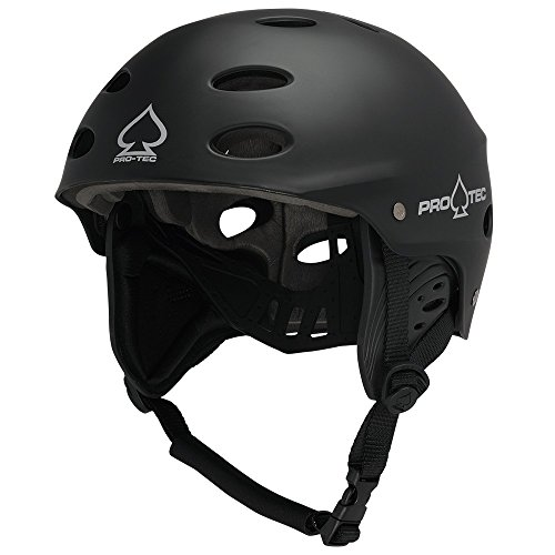 Pro-Tec Ace Wake Casco, Unisex Adulto, Rubber Black, M