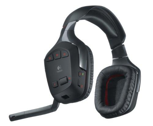 Logitech G930 PC-Gaming Kopfhörer (schnurlos, für PC) schwarz - 7