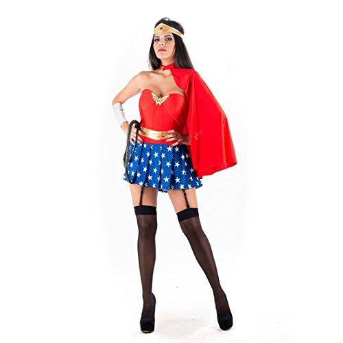 Schelmenroman - Superheld-Kostüm RED