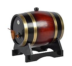 Idea Regalo - Fornitore di birra in legno Pine Red, red, 3