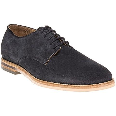H By Hudson Hallam Hombre Zapatos Azul